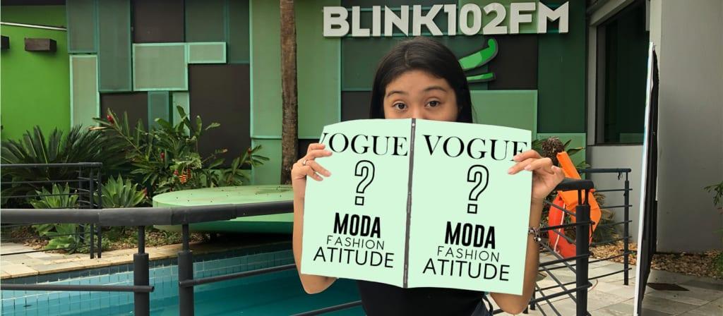 Você viu quem está na capa da Vogue!?