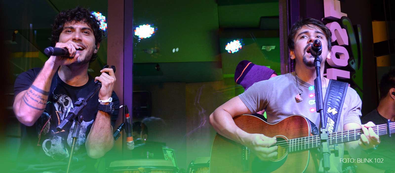 Bruninho e Davi na Blink 102