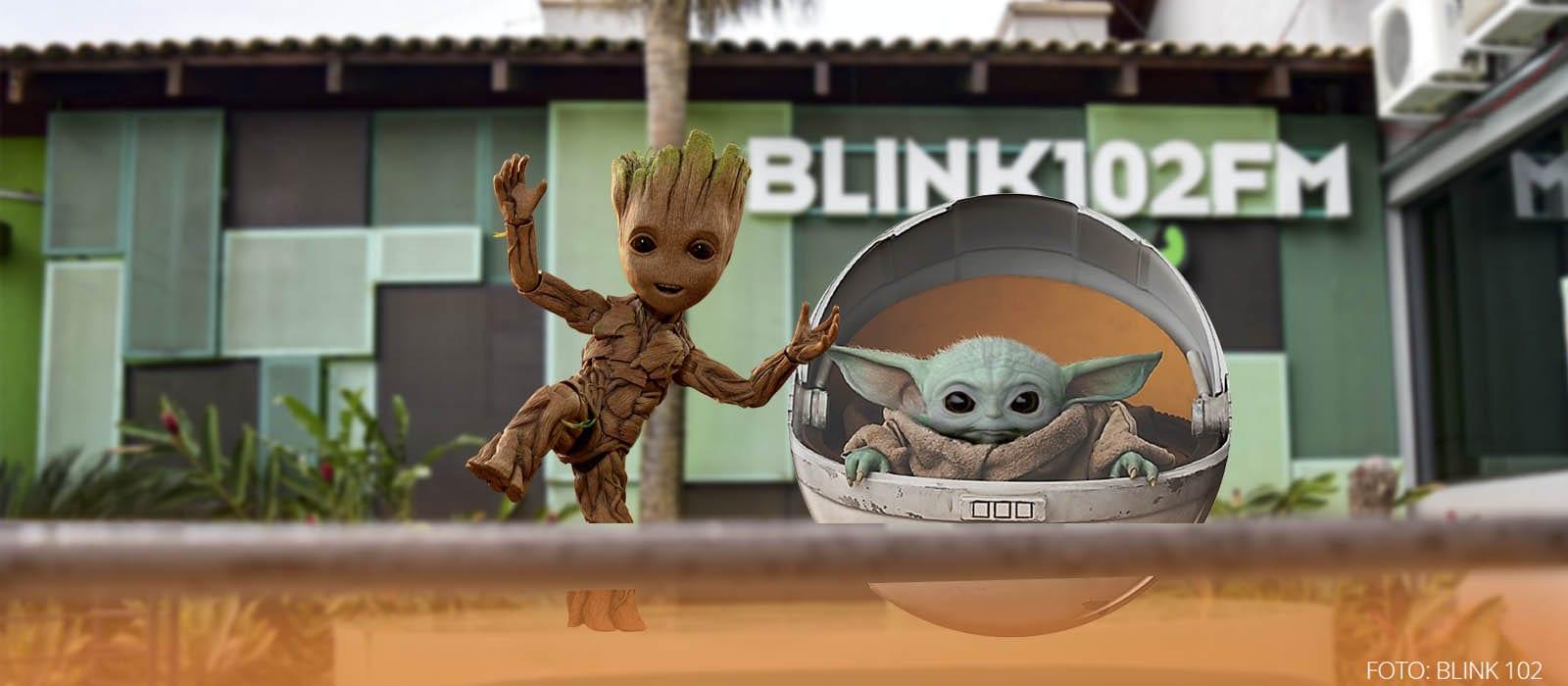 Sua torcida vai para quem, Baby Groot ou Baby Yoda?