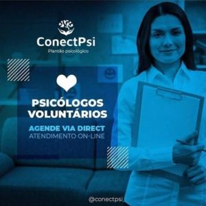 @conectpsi_ auxílio psicológico emergencial gratuita durante a pandemia de Covid-19
