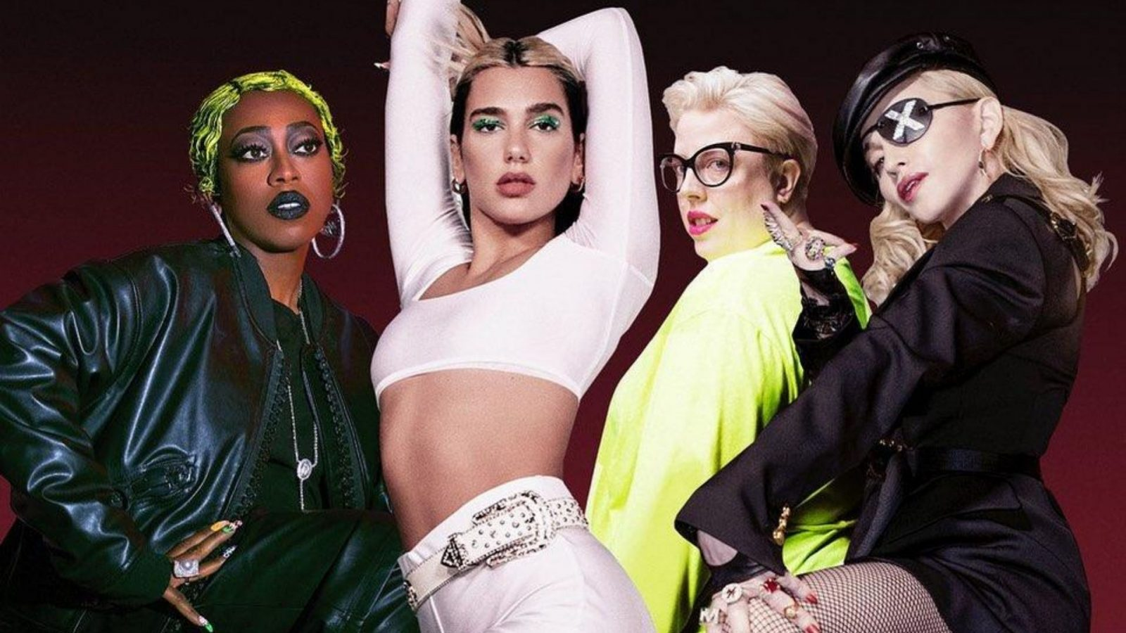 "Nova parceria entre Dua Lipa, Madonna e Missy Elliott. ""Levitating"""