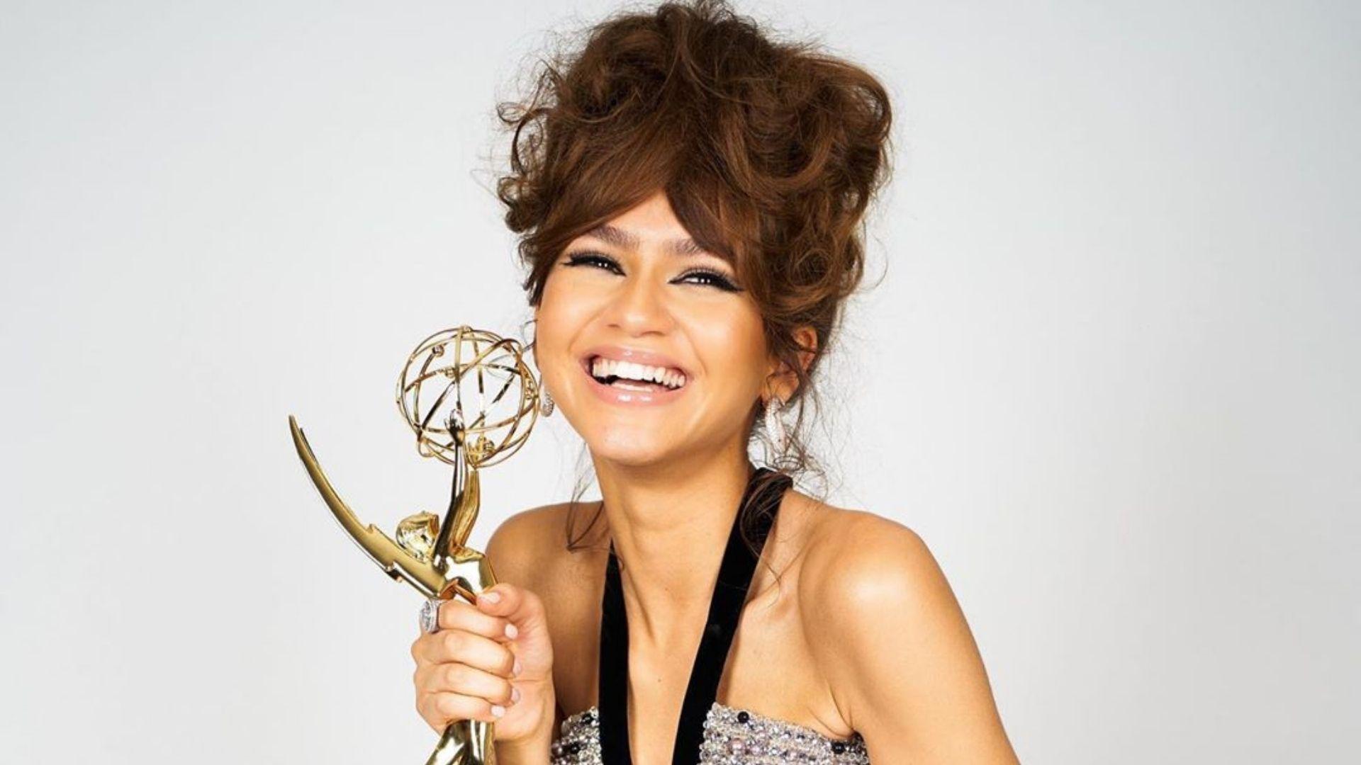 A mulher negra mais jovem a ganhar o Emmy