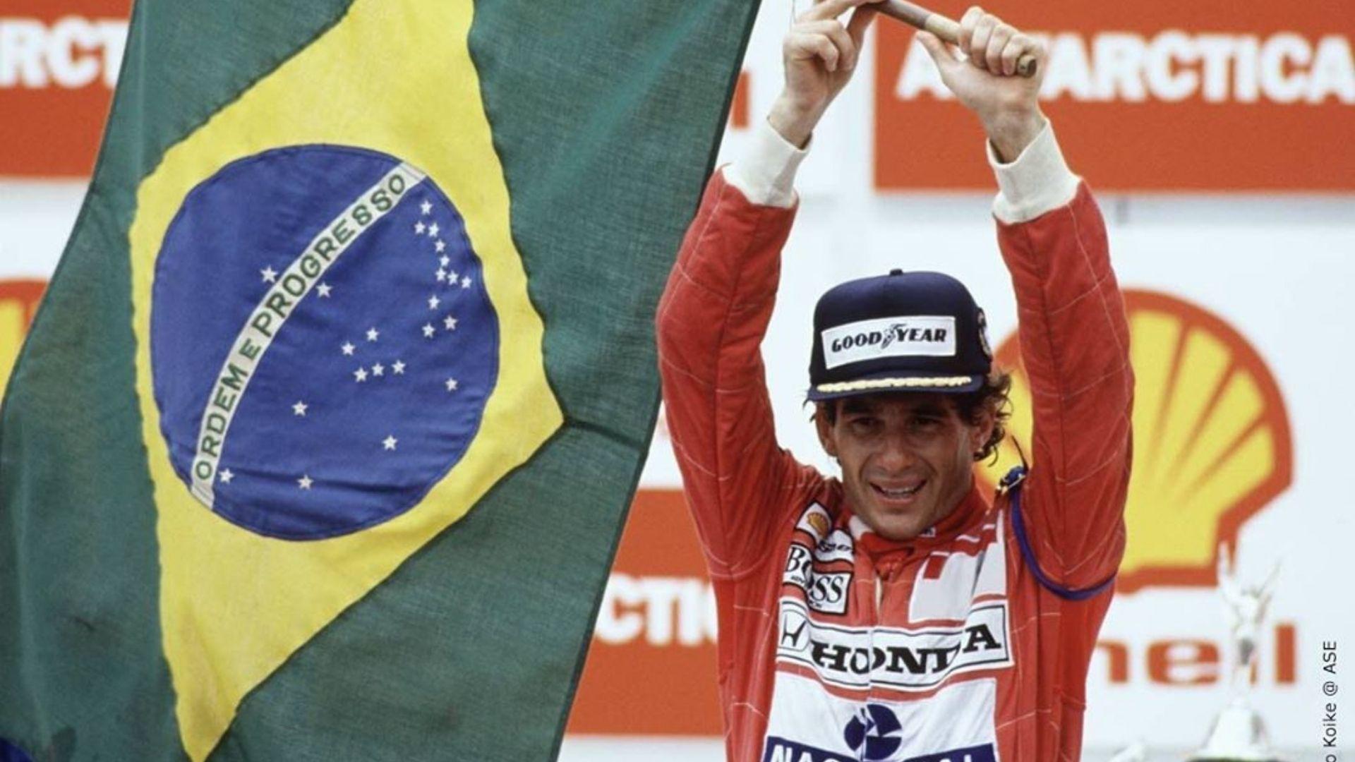 Ayrton Senna nas telas